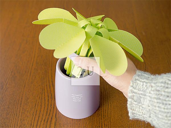 花形環保節能自然加溼器 HEART FLOWER 草綠色